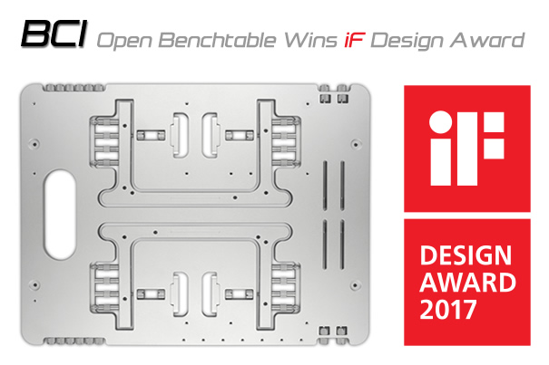 Streacom HWBOT Open Benchtable BC1 iF Design Award